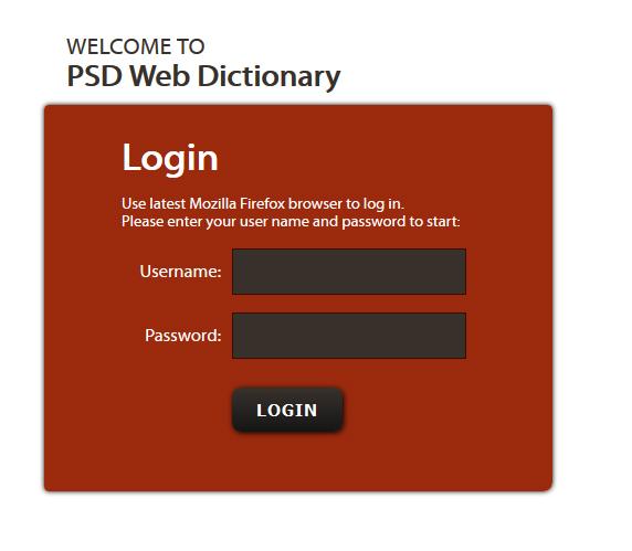 Slovar prevajalske agencije PSD