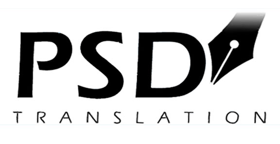 psd translation logo